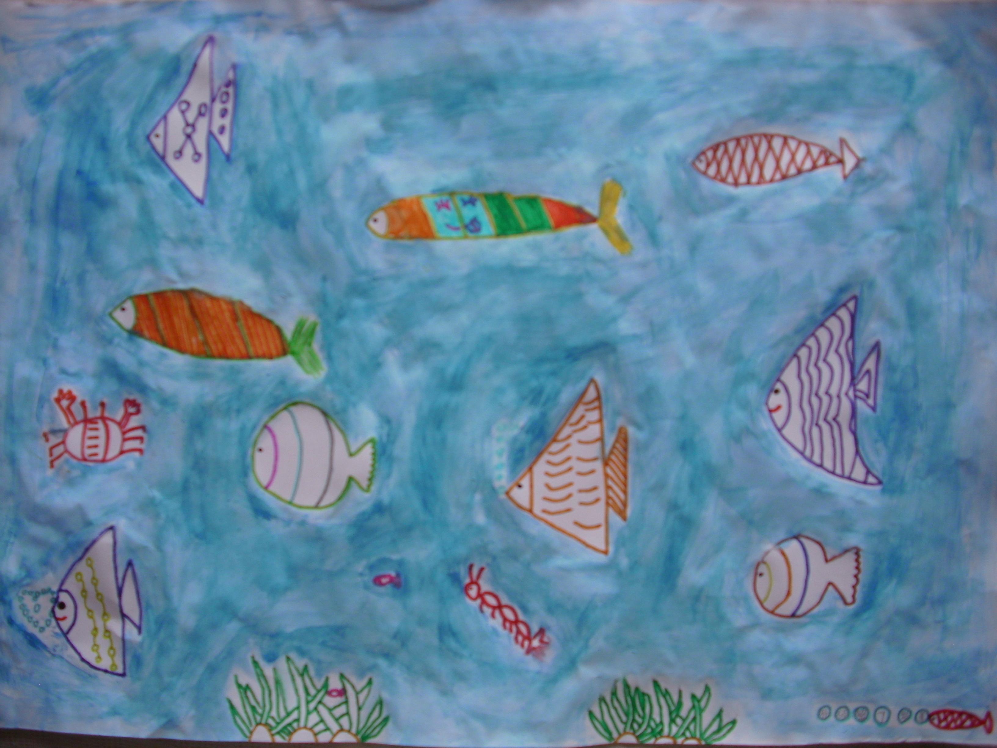 保护海洋绘画作品