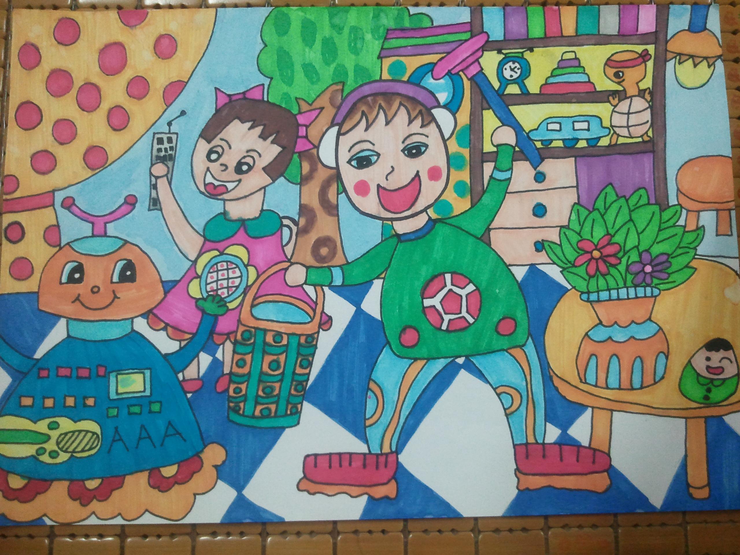 """第三届艾迪康杯""""我是健康好儿童""""全国绘画及故事大赛"""